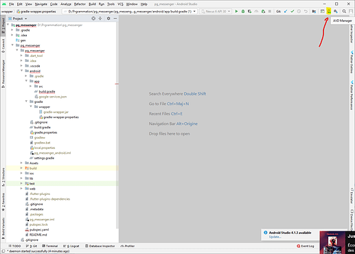 AVD Manager From android studio